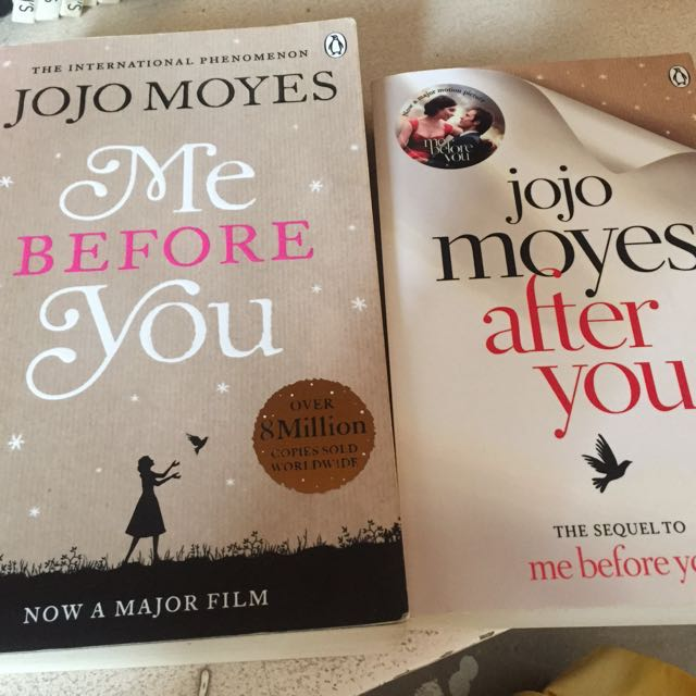 Me Before You and Me After You books