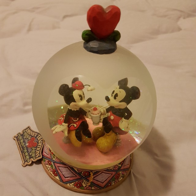 Mickey & Minnie Display Figurine