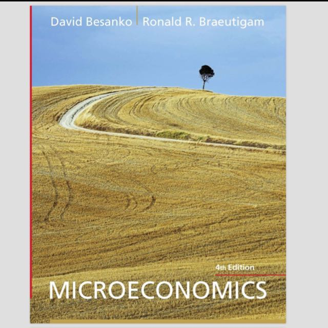 microeconomics 4th edition david besanko ronald r braeutigam ebook rh sg carousell com Factors of Production Microeconomics Quick Study Charts