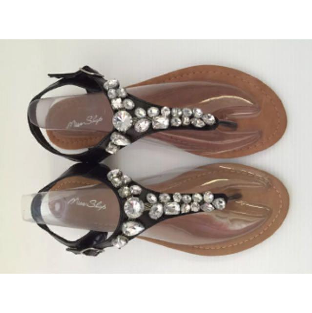 Miss shop sandals size 6 like new / ex display