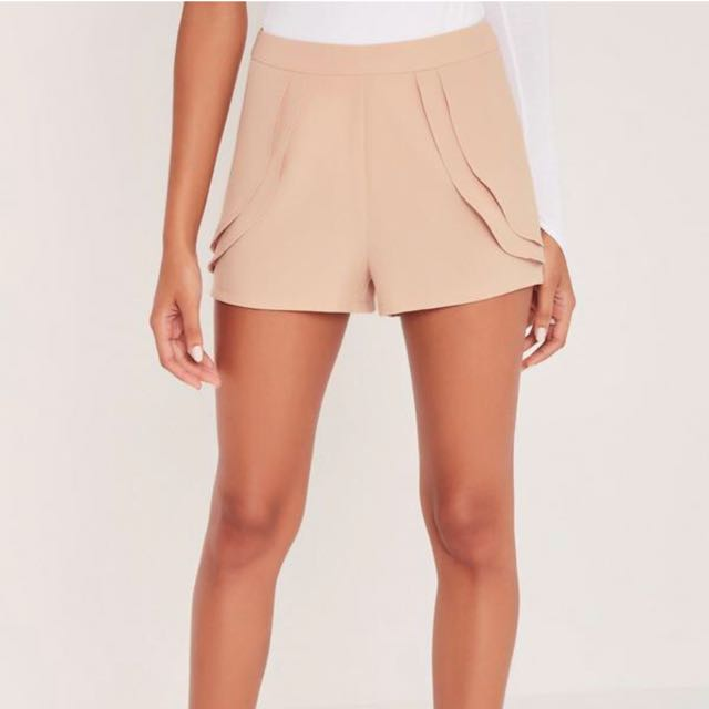 Missguided flap shorts