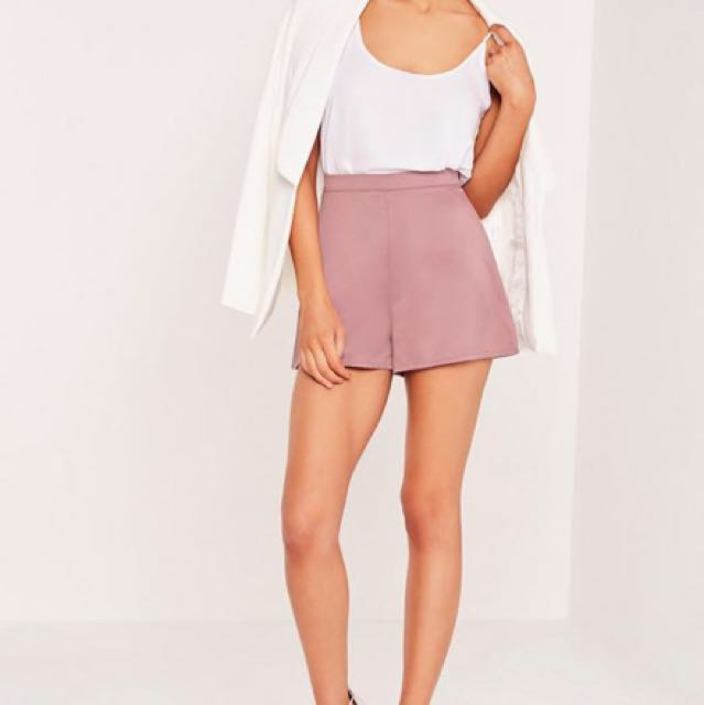 Missguided lilac shorts