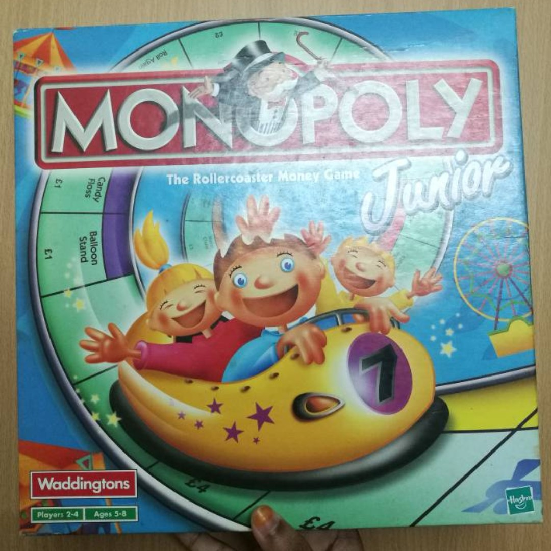 Monopoly Junior Toys Games Board Cards On Carousell Mainan Monopoli