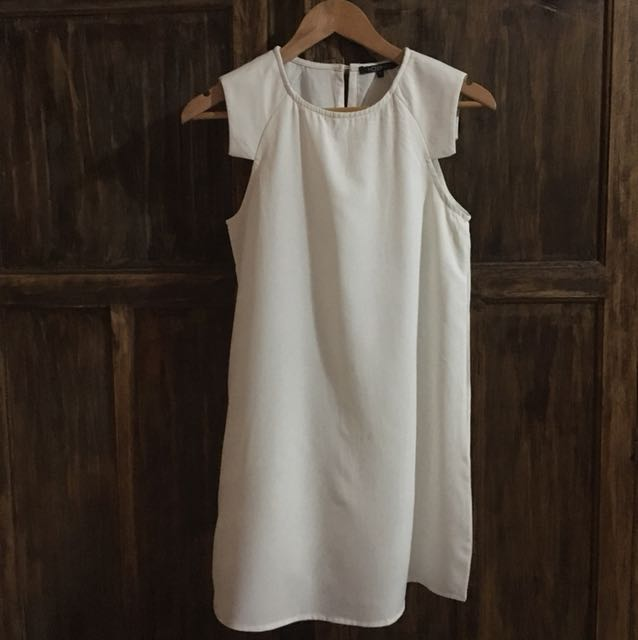 Mossman white dress