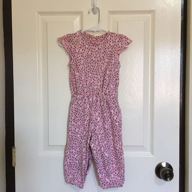 Mothercare Pink Full Body Jumpsuit 12mos