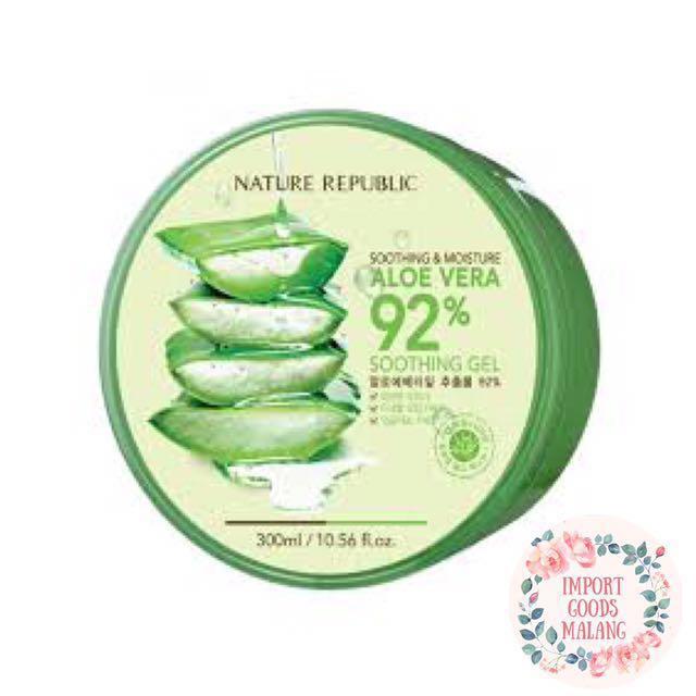 Nature Replublic 92% Aloe Vera Skin Care