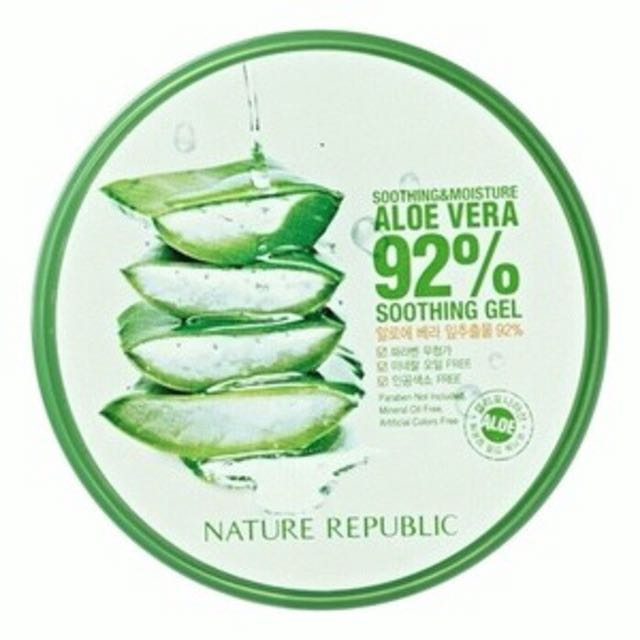 Nature republic aloe vera moisturizer