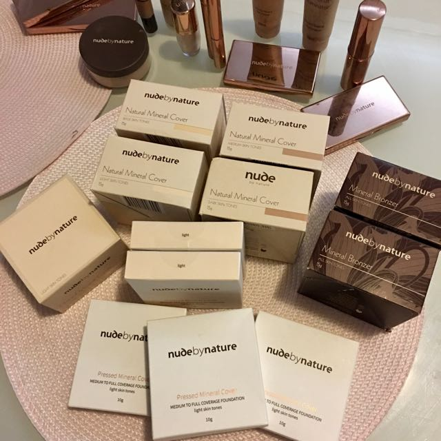 NBN mineral cover, pressed mineral cover, mineral bronzer