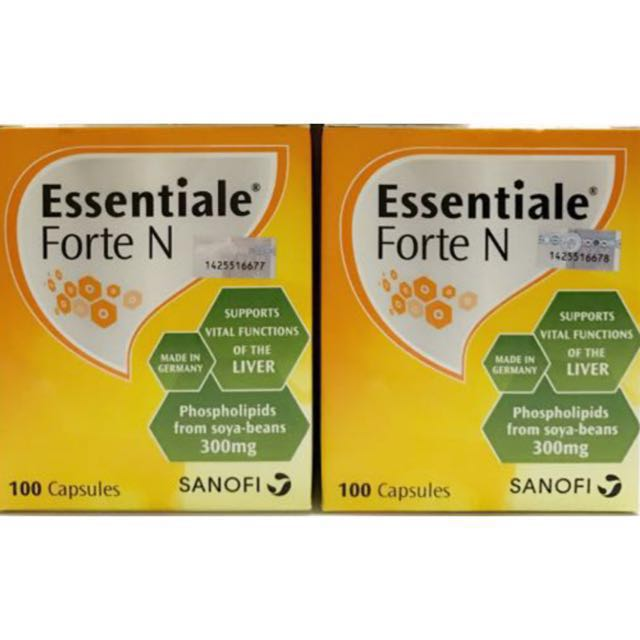 (NEGO TILL LET GO) Essentiale Forte N 100s X 2 boxes