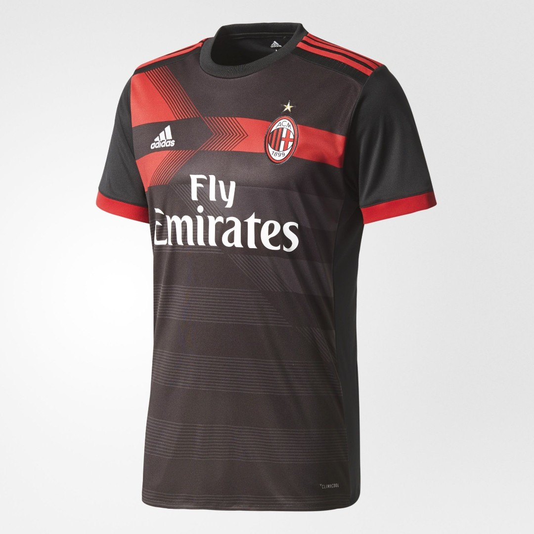 14bc96eb7 NEW  AC Milan Third Football Kits 17 18 Pre-Order