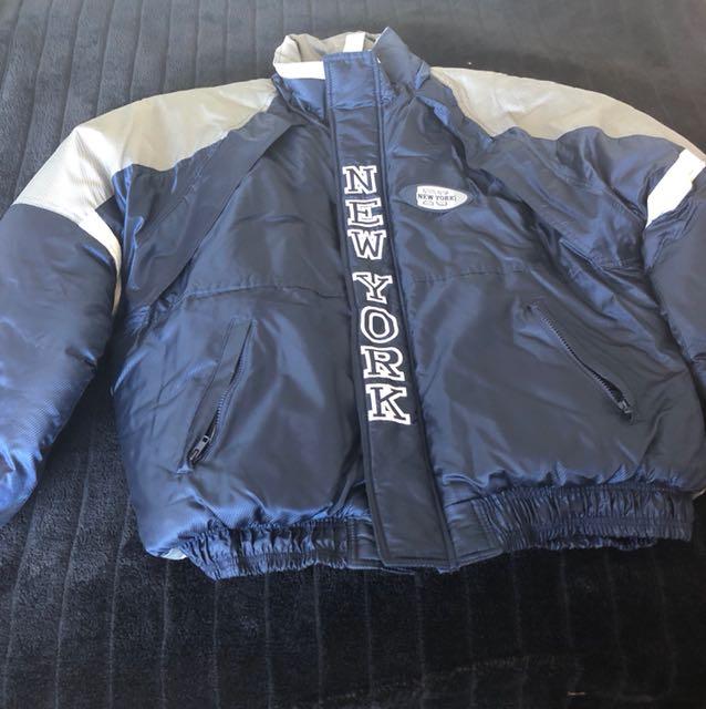 New York puffer jacket