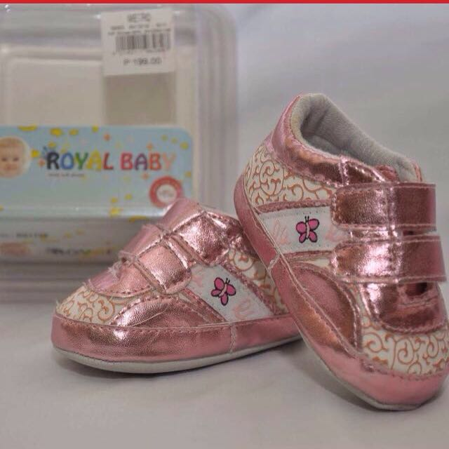 Now Only P80 Royal Baby Shoes