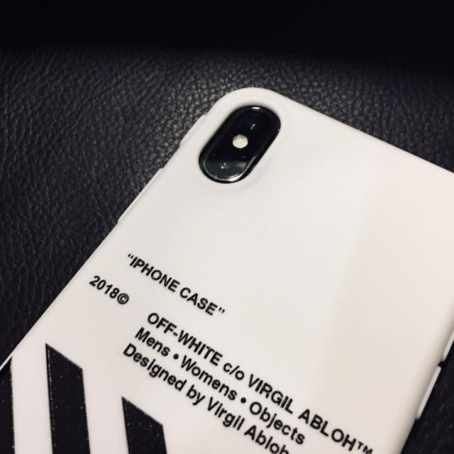 Off____White iPhone X phone case