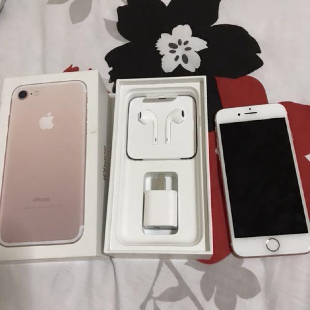 Original iPhone7 128 gb rose gold