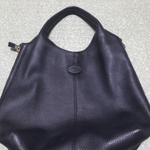 Original Tods baker expandable bag!