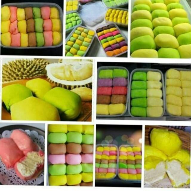Pancake durian isi 10,15,dan 21