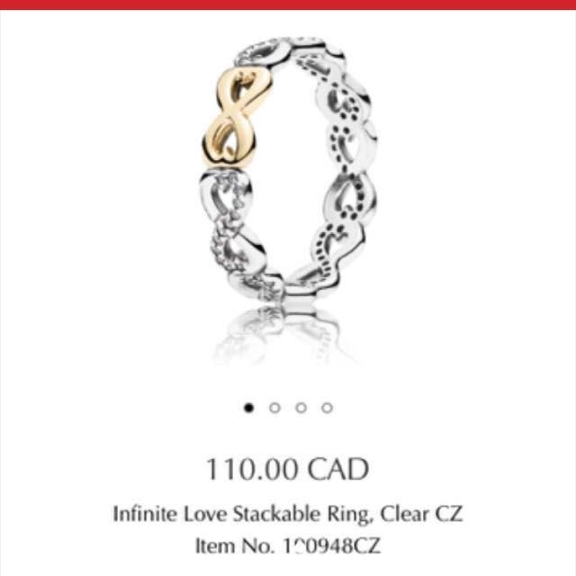 Pandora Infinite Love Ring