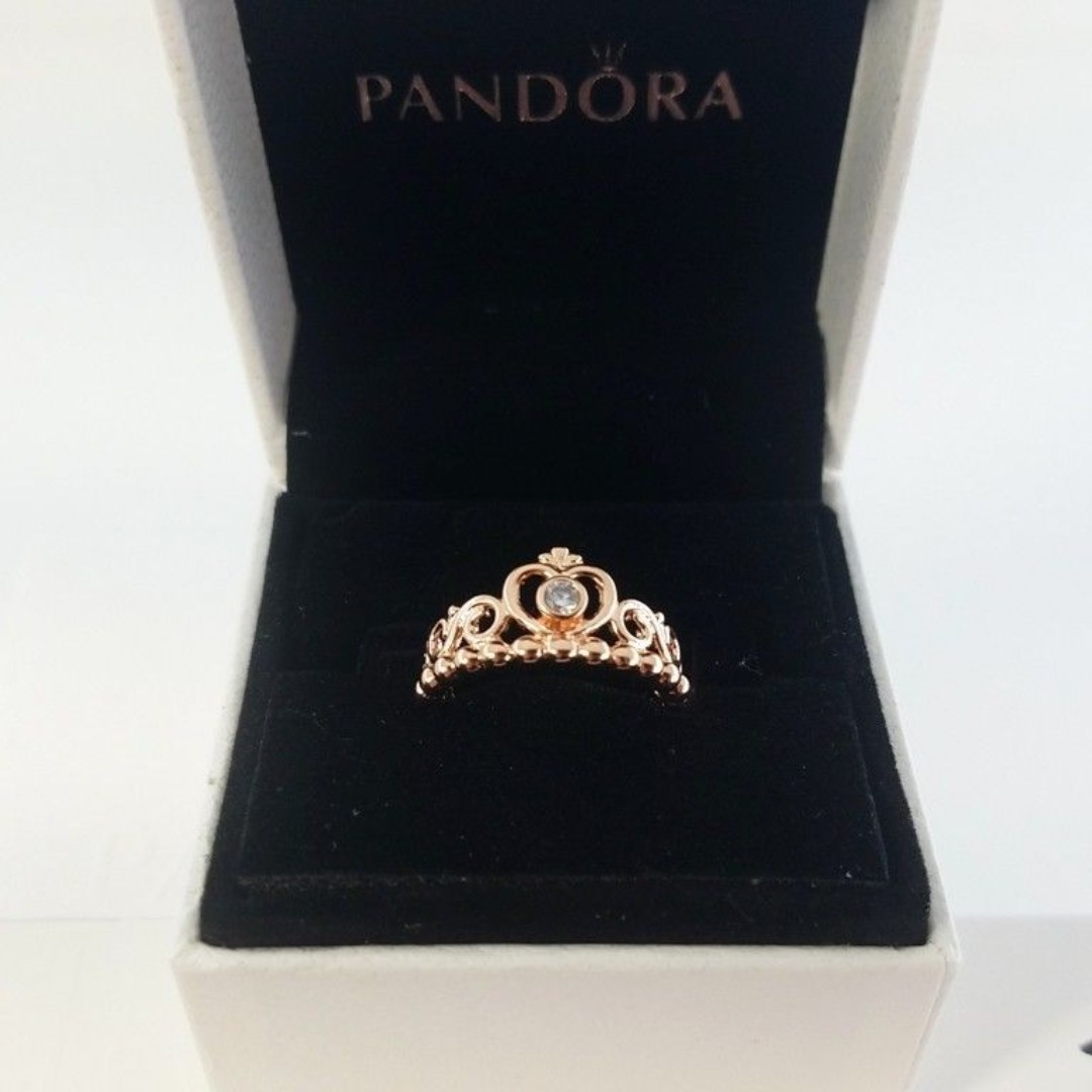 9a868395d Pandora Princess Tiara Ring on Carousell