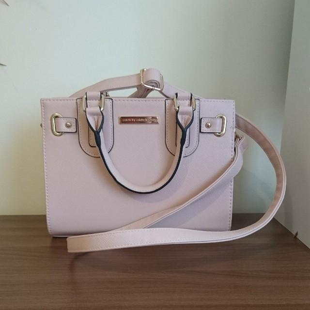 Pink Colette mini tote bag