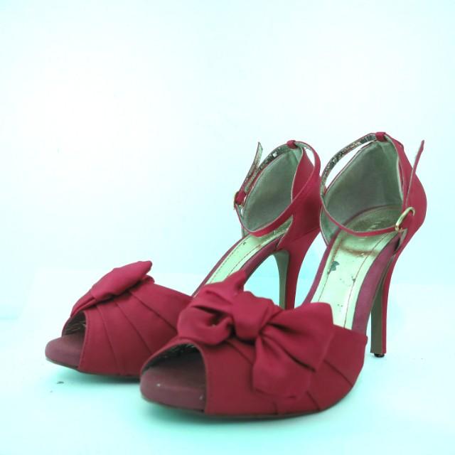 Pink Fuschia party heels