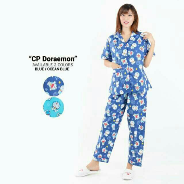 Piyama Karakter Doraemon