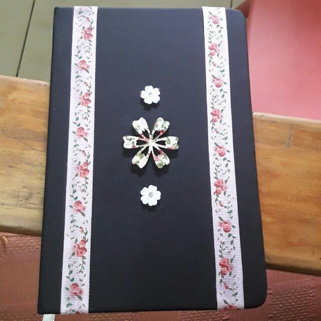 Pre-Designed Notebook/Journal (Personally Designed By Me)