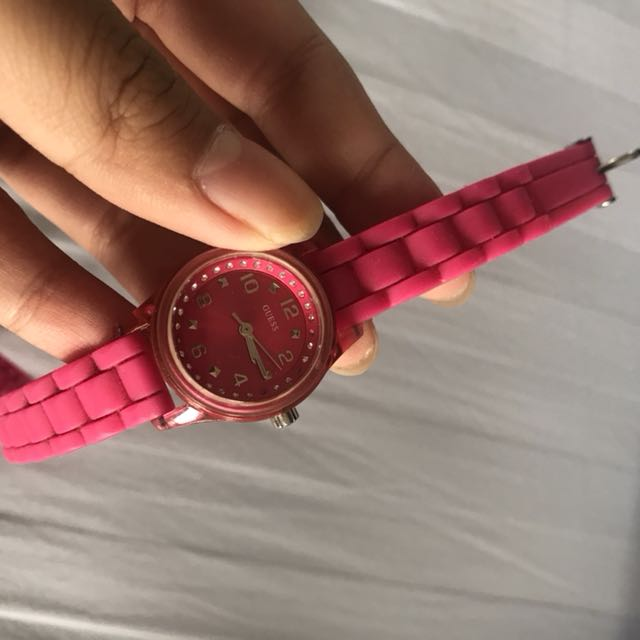 Preloved guess watch no box