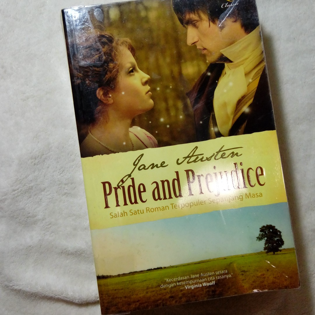 Preloved Novel Terjemahan - Jane Austin - Pride and Prejudice