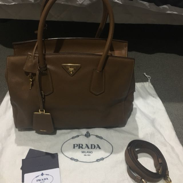 Pre-loved Prada Two-Way Tote Bag