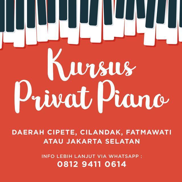 Privat Piano Jakarta Selatan