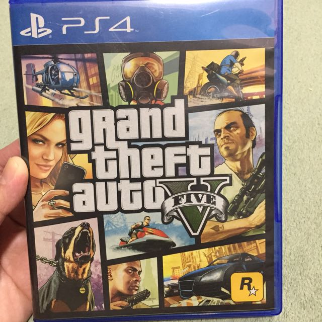 PS4 Game (grand theft auto V)