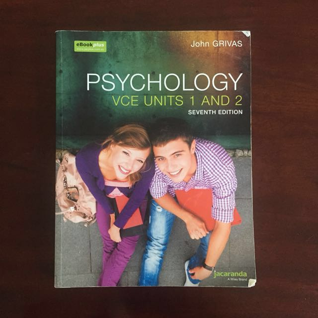 Psychology VCE Units 1 and 2 textbook