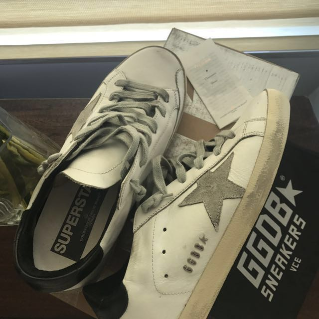 REPRICED!!! Golden Goose Leather Superstar Sneakers