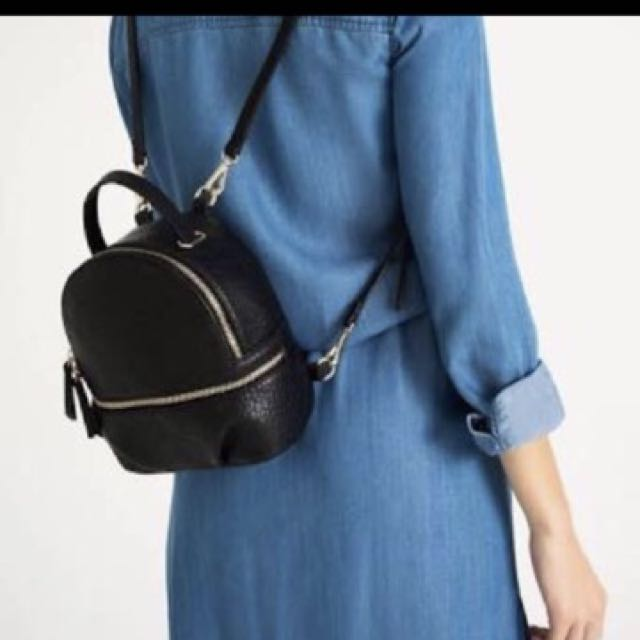 RESTOCK! ZARA MINI CONVERTIBLE BACKPACK!