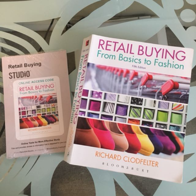 Retail Buying From Basics to Fashion  Fifth Edition RMG400
