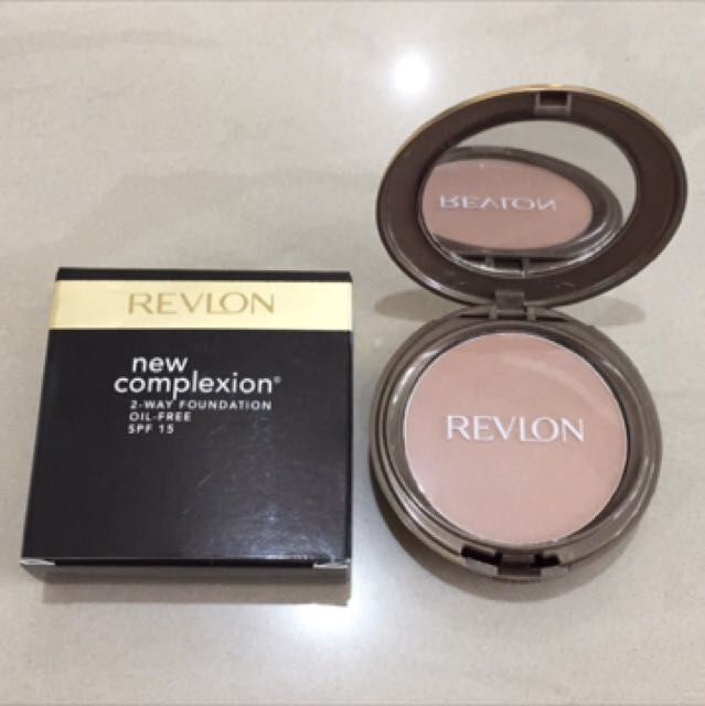 Revlon New Complexion Two Way Foundation 01 Ivory Beige Daftar Source · Revlon New Complexion 2