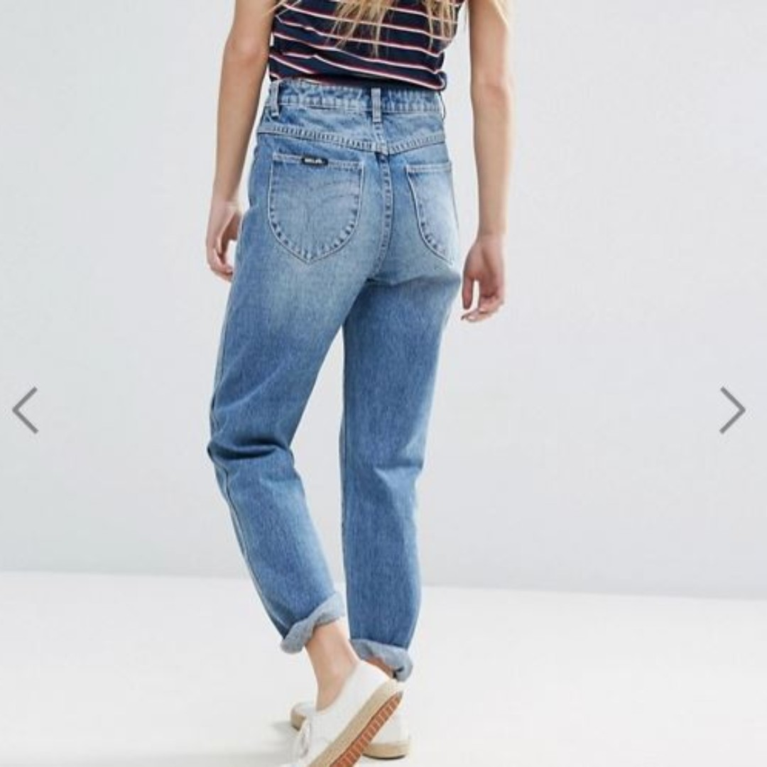 ROLLAS Dusters mum mom jeans size 25
