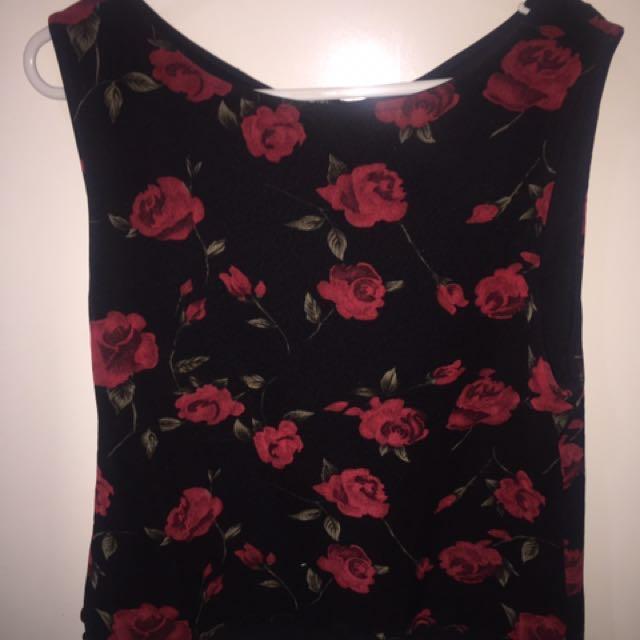 Rose top