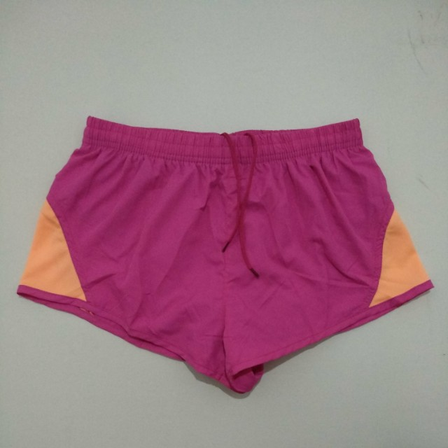 running shorts by young curves