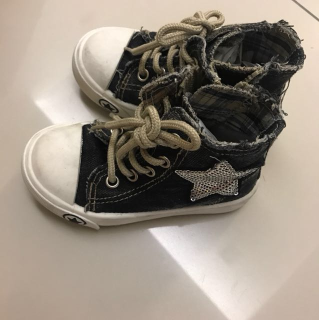 Saint Ruby Toddler's Sneakers with side zip