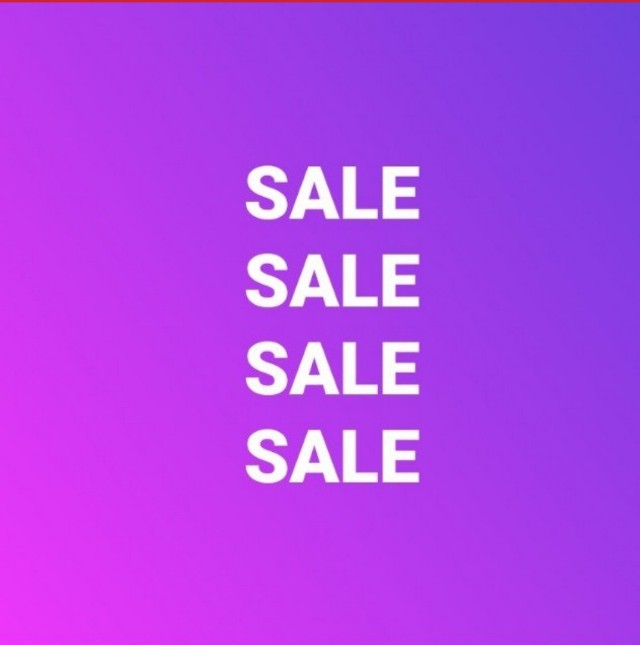 SALE Ongoing