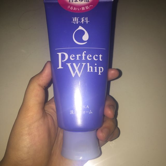 senka perfect whip by shiseido