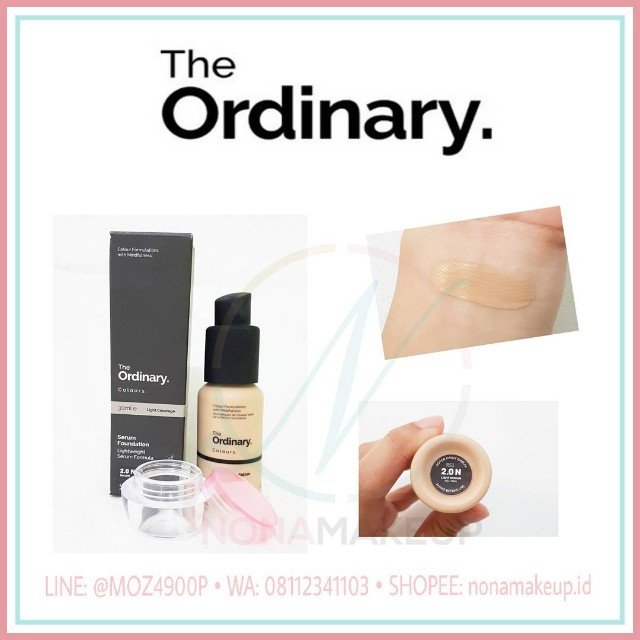 SHARE IN JAR / BOTTLE THE ORDINARY SERUM FOUNDATION