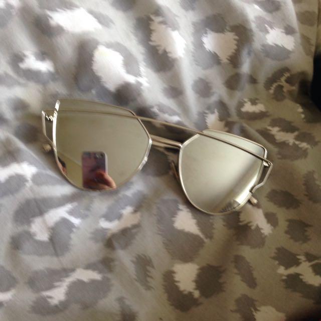 Silver Glasses