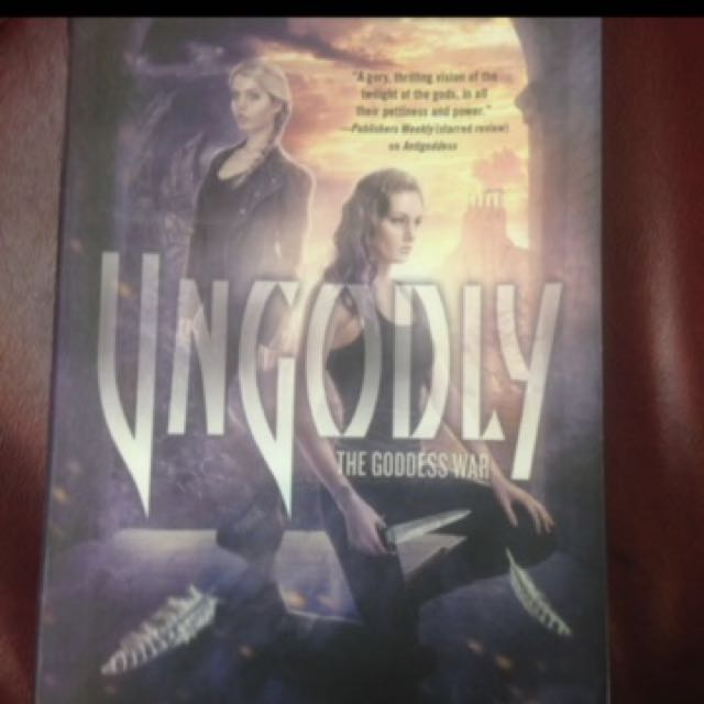 Special Offer Ungodly The Goddess War Book Three By Kendare Blake