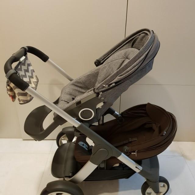 Stokke Crusi Sibling Seat Babies Kids Strollers Bags