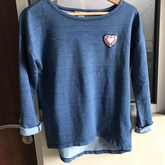 Sweater Biru H&M