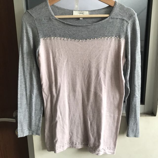 Sweater pink abu