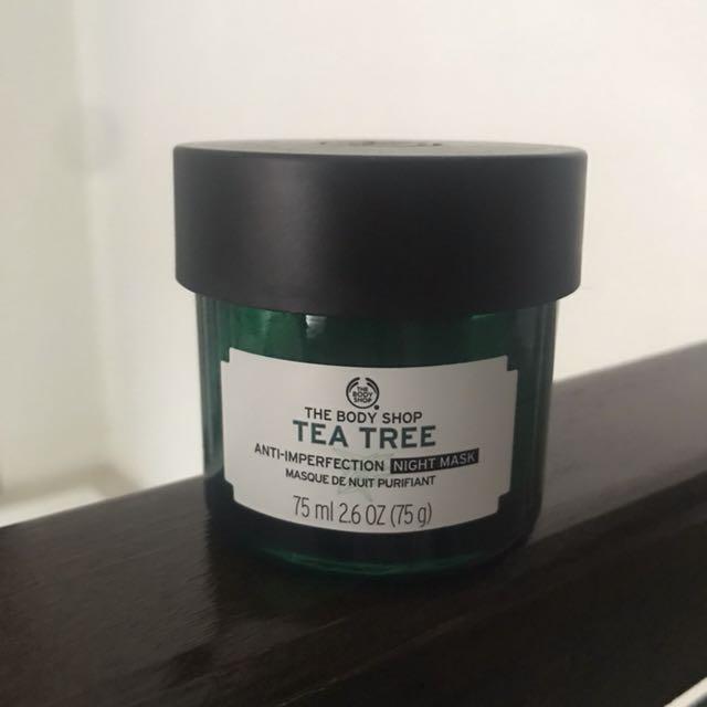 The Body Shop Tea Tree Sleeping Mask
