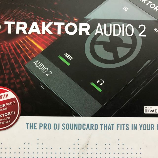 Traktor Audio 2 聲卡(iPhone, IPad可用)